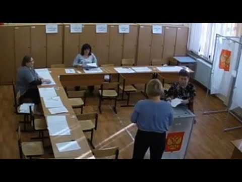 CCTV shows apparent ballot stuffing in Russian vote