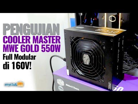 Pengujian Cooler Master MWE Gold 550W Full Modular (Bahasa Indonesia)