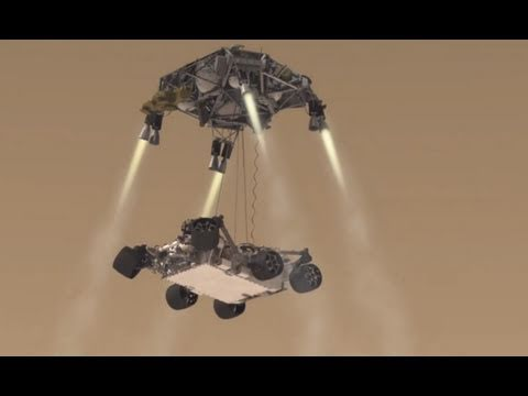 NASA Mars Science Laboratory (Curiosity Rover) Mission Animation [HDx1280]