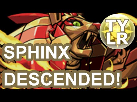 [Puzzle & Dragons] Sphinx Descended! & Hypermaxing Awoken Ra