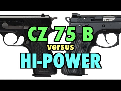 CZ 75 B vs. Browning Hi-Power