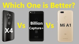 Video MOTO X4 Vs MI A1 Vs BILLION CAPTURE+ comparison and specification Not A Review In Hindi MP3, 3GP, MP4, WEBM, AVI, FLV November 2017