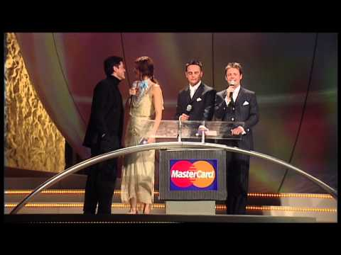Madonna wins International Female presented by Donny Osmond & Helena Christensen | 2001