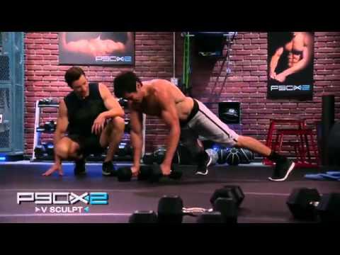 P90X2 V Sculpt Review Advanced Workout for Back & Biceps P90X