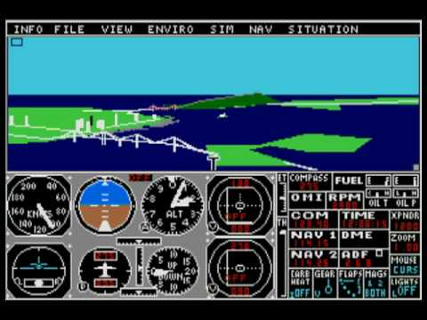 flight simulator atari