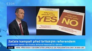 Začala kampaň před britským referendem