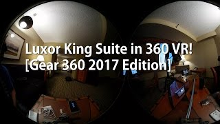 Here's a quick tour of my hotel King Suite hotel room at Luxor in 4K 360 VR using the new Gear 360 2017 Edition.Also check out my unboxing camera setup here:http://highoncameras.com/camera-setup/galaxy-s8-plus-unboxing-camera-setup-w-sony-a7rii-a6300/-----------------------------------------Join the HighOnAndroid VIP Fans List for free help from Max and discounts on Android accessories:http://highonandroid.com/newsletter.php