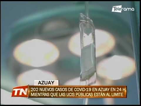202 nuevos casos de covid-19 en Azuay en 24 horas mientras que las UCIS públicas están al límite