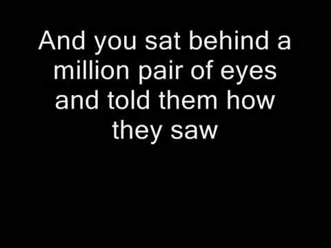 David Bowie - Song for Bob Dylan (Lyrics)