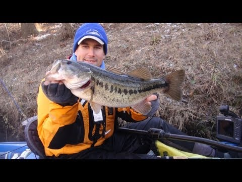 """Spring"" Time Largemouth in January"