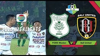Video PSMS Medan (1) vs (2) Bali United - Full Highlights | Go-Jek Liga 1 Bersama Bukalapak MP3, 3GP, MP4, WEBM, AVI, FLV Agustus 2018