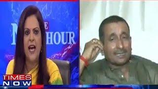 Video BJP's Rape Accused Kuldeep Singh Sengar Ignores Navika Kumar's Questions MP3, 3GP, MP4, WEBM, AVI, FLV Desember 2018