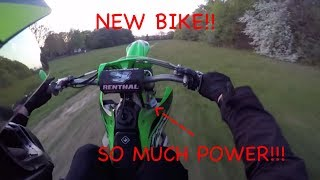 3. ANOTHER NEW BIKE!?! | First ride on the 2015 Kx450f!
