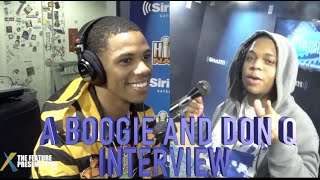 A Boogie and Don Q  Interview