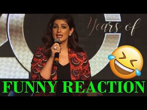 Twinkle Khanna's FUNNY REACTION 😂 On 20 Years O