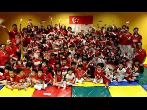 MindChamps PreSchool National Day 2012 Celebrations (Nursery 2)