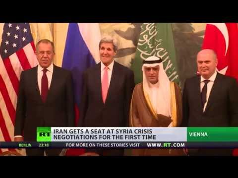 Officials from US, Russia, Iran, Turkey & Saudi Arabia are gathering in Vienna for the solution of Syrian crisis