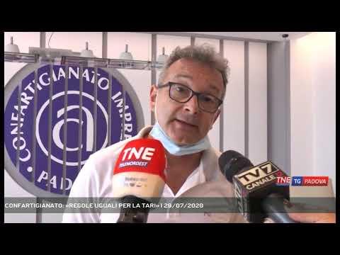 CONFARTIGIANATO: «REGOLE UGUALI PER LA TARI» | 29/07/2020