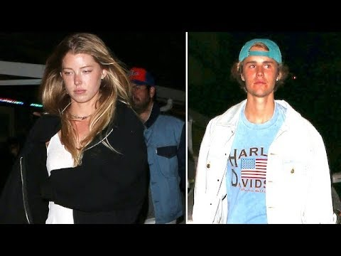 Video Move Over Selena! Justin Bieber Hits The Roxy With Sexy Model Baskin Champion download in MP3, 3GP, MP4, WEBM, AVI, FLV January 2017