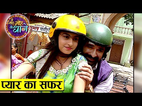 Aru & Mukhi ROMANTIC Bike Ride | Yeh Moh Moh Ke Dh
