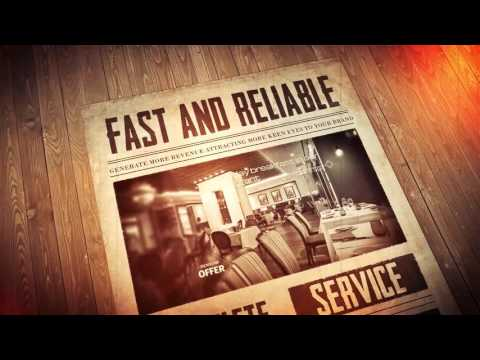 Newspaper commercial