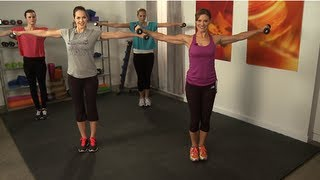 Total-Body 10-Minute Workout Video With Holly Perkins