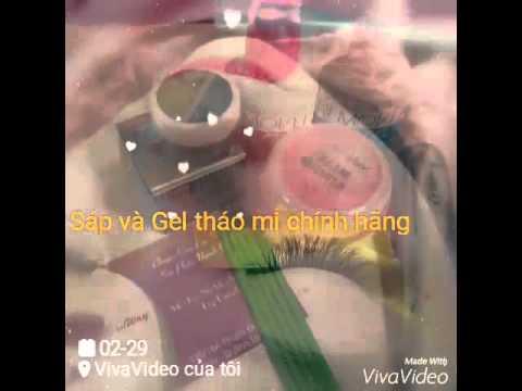 Hướng dẫn dùng sáp và gel tháo mi