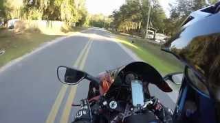 6. Kawasaki zzr600 Wheelies