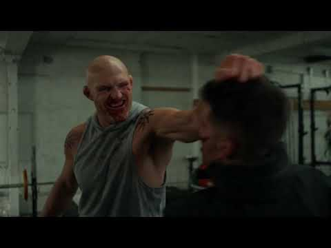 Marvels The Punisher 2x05   Frank Castle The Punisher beating up russians scene