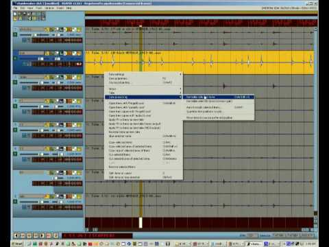 REAPER Tutorial 11 – More Automatic Drum Editing