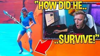 Tfue Was Left SPEECHLESS After The *UNLUCKIEST* Fortnite Moment Ever...