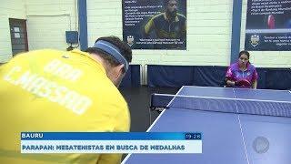 Mesatenistas de Bauru vão em busca de medalhas no Parapan-Americano de Lima