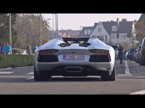 accelerating - Here is a compilation of many supercars accelerating, including a couple of Mercedes-Benz SLS AMG's, Lamborghini Aventador, Porsche 991 Targa 4s, Alfa Romeo ...