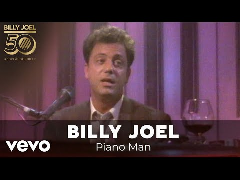 Billy Joel - Piano Man lyrics