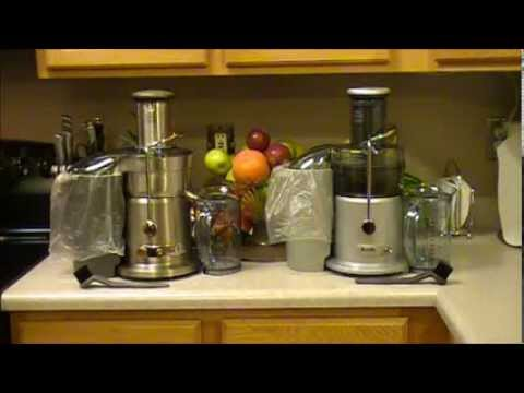 Breville Juice Fountain Plus JE98XL vs Breville Juice Fountain Elite 800JEXL Review