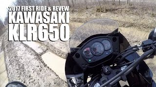 10. 2017 FIRST RIDE & REVIEW KAWASAKI KLR650