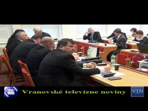 Vranov n.T. má schválený rozpočet na rok 2017