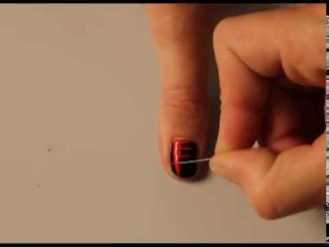 Halloween bebloede nagels