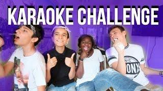 KARAOKE CHALLENGE w/ HichamFzz, SparkDise & Anthonin