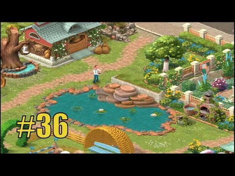 GARDENSCAPES NEW ACRES #36 Gameplay Story Playthrough | Area 8 Stable Area  Day 4 U2013 DailyAnswers.net