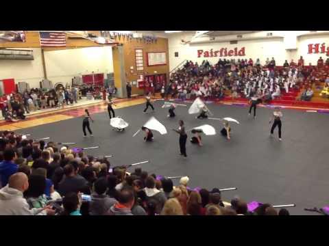 Armijo High School Open Guard - FSUSD District Show 2013