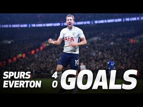 Video: GOALS: Spurs 4-0 Everton