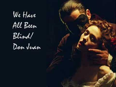Tekst piosenki Phantom of the opera - We have all been blind po polsku
