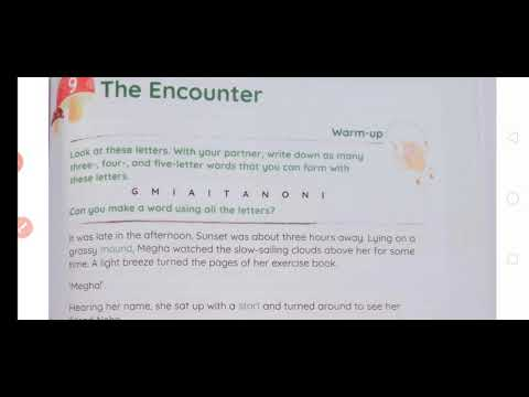 The Encounter Class 4 English Channel Coursebook