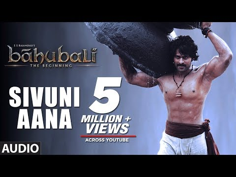 Baahubali Sivuni Aana Full Audio Song