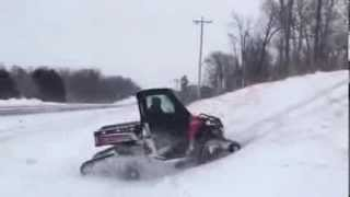 5. 2014 Polaris Ranger 900 with tracks