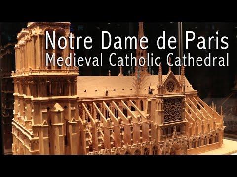 Notre Dame de Paris-Medieval Catholic Cathedral