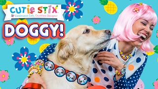 """Cute dogs love to have a decorated collar and leash!Decorate Your Dog's Leash  Official Cutie StixFrom the makers of Orbeez and Pom Pom WowThe official YouTube channel of Cutie Stix""""Continuous Cuts, Countless Creations! Seriously Cute!""""1) Cut the stix to create beads. Use the CORING UNIT to core the beads.2) Create necklaces, bracelets, and more by using the threader.3) Show off your finished jewelry design. Be your own designer!From the makers of Orbeez and Pom Pom Wow by Maya ToysSUBSCRIBE:https://www.youtube.com/channel/UCHx4Hfo0-MpUEPRTflJjWLw?sub_confirmation=1Maya Toys 2016http://www.CutieStix.com"""