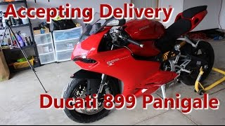 7. Accepting Delivery   2014 Ducati 899 Panigale