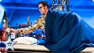 Video Prepare to be SPELLBOUND by Magus Utopia | Auditions | BGT 2018 MP3, 3GP, MP4, WEBM, AVI, FLV Maret 2019